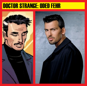 Doctor Strange vs Oded Fehr - the similarities are astounding. Courtesy of @BlackGirlNerds