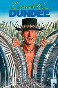 Crocodile Dundee movie poster