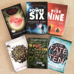 lorien legacies book covers
