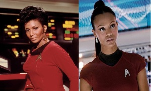 uhura original and new