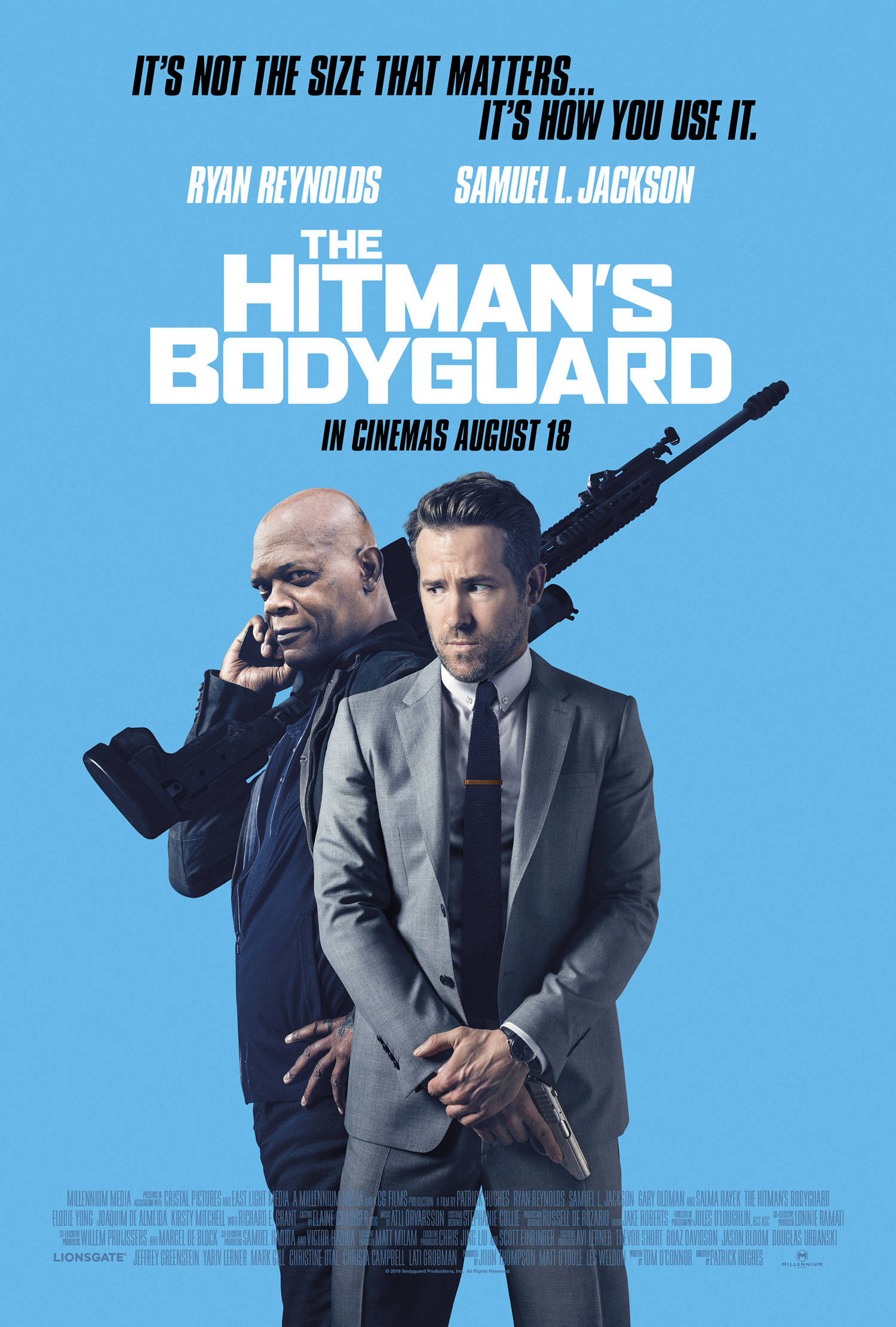 Review The Hitman S Bodyguard 2017 Elena Square Eyes